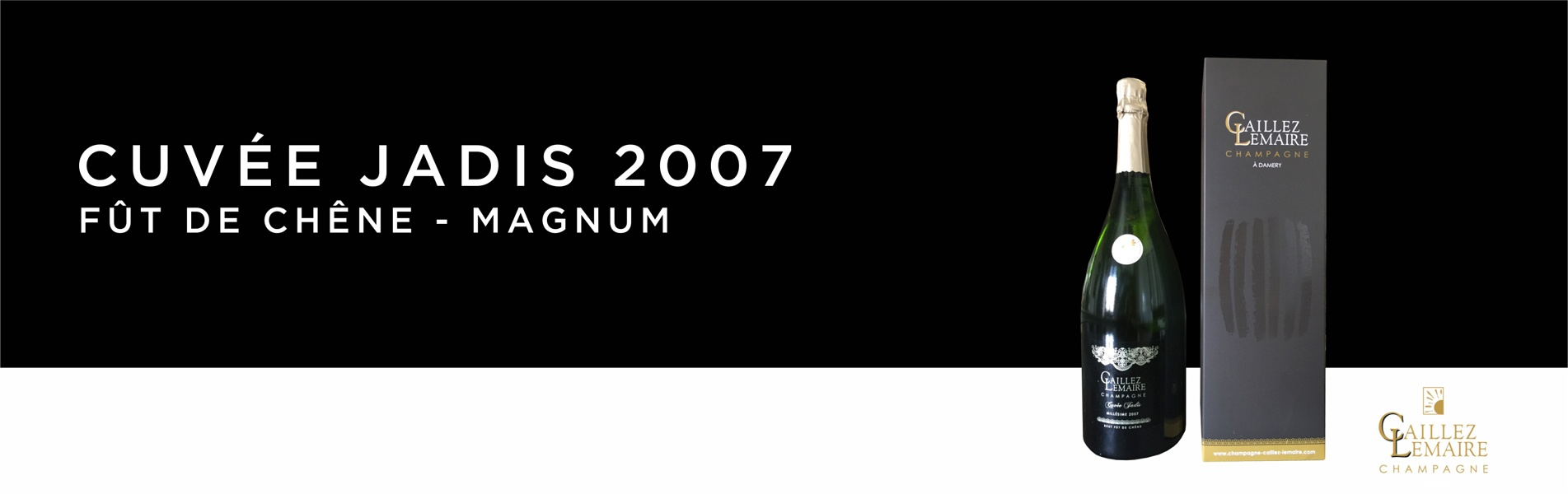 Jadis 2007 - Magnum - Champagne Caillez-Lemaire